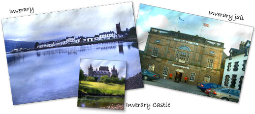 Visit Inverary from your B&B in Dunnon