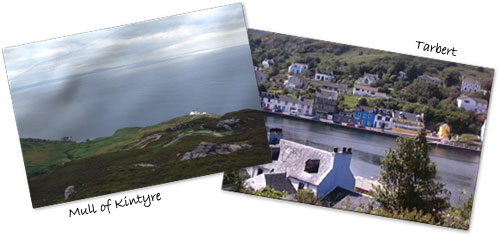Tour to Kintyre and Tarbert from Craigieburn Guest House